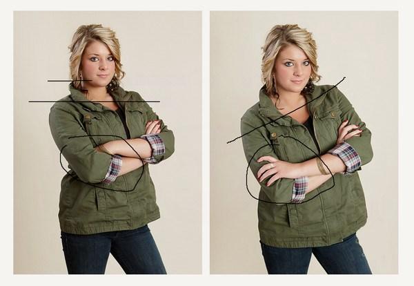 微胖界的妈妈们,请这样摆pose拍照
