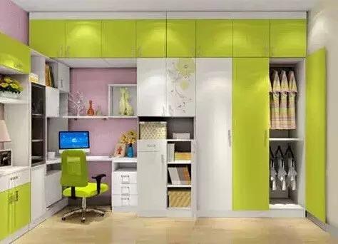 > 妈咪居家:原来衣柜还可以这样子   当然,也可以做一个衣柜 书柜的l图片