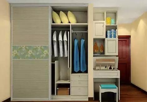 衣柜+梳妆台图片