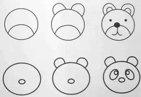 20副新简笔画,给孩子收藏!