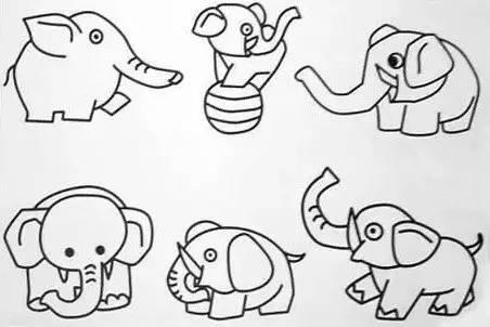 好简单 20副新简笔画,给孩子收藏