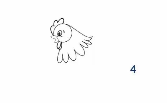 每日一简笔画——画鸡妈妈!